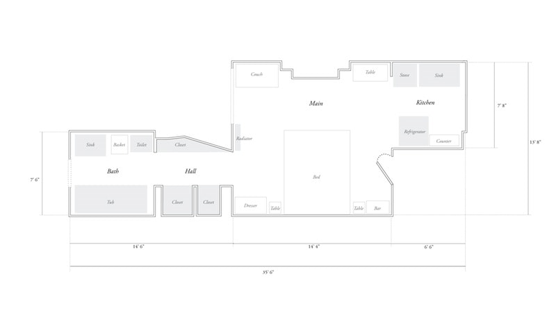 330-sq-ft apartment floorplan small home design
