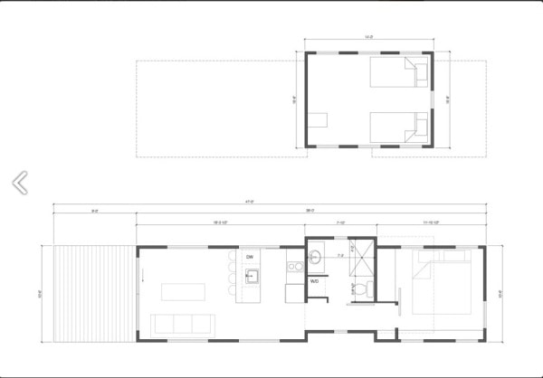small home design 400 sq ft floor plan