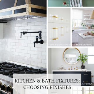 CHOOSING BATHROOM KITCHEN FIXTURES