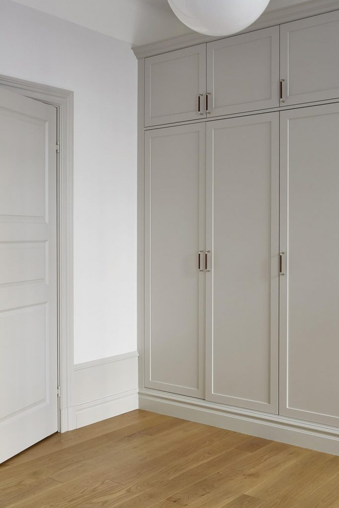 example of custom built in closet