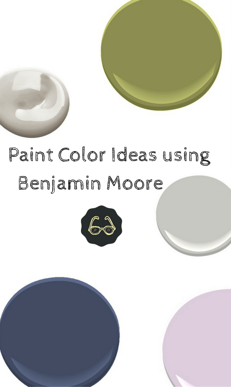 paint color ideas using benjamin moore