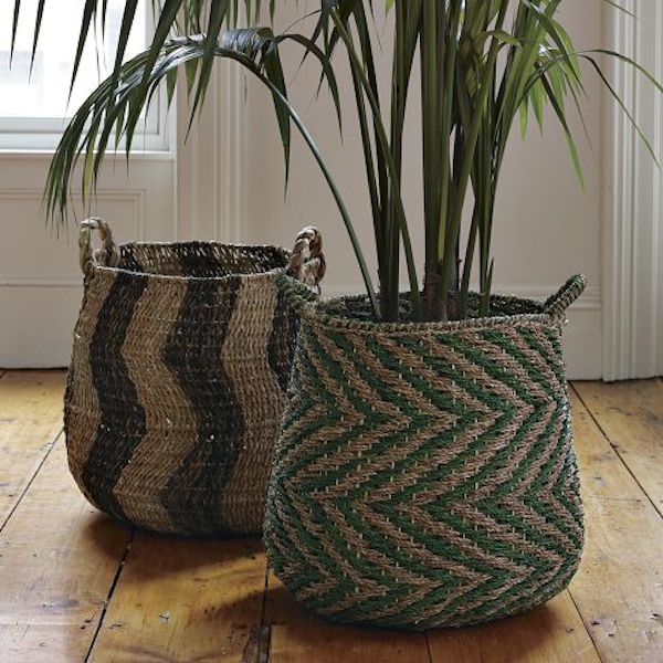 wicker-graphic-print-plant-basket